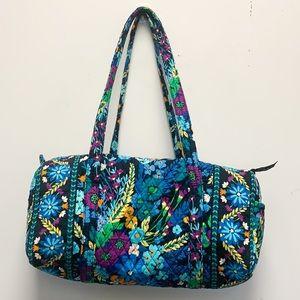 Vera Bradley floral weekend duffle bag